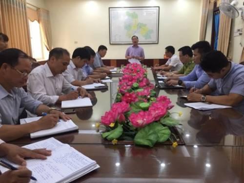 Đồng chí Nguyễn Đặng Ân, Phó Bí thư Huyện ủy, Chủ tịch UBND huyện phát biểu 1.jpg